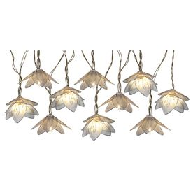 Solar String Lights Lowes Delectable Night Lightthey're Silver Mesh Spray Paint Green For Lily Pad Decorating Design