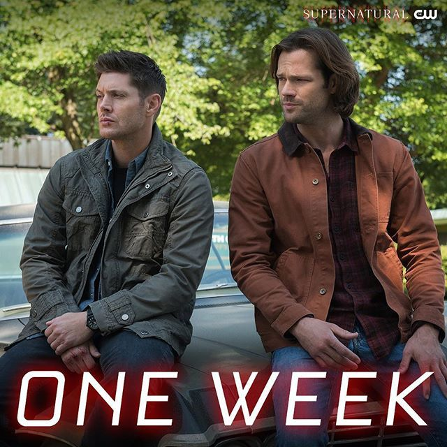 They're back! #Supernatural returns in ONE WEEK, next Thursday at 8/7c on The CW.cw_supernatural