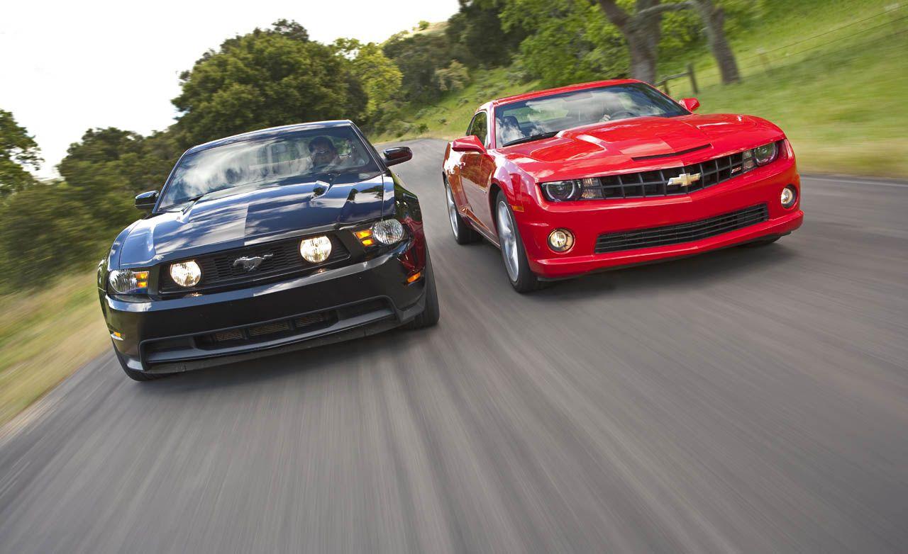 Chevrolet camaro ford vs chevy