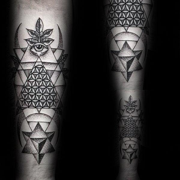 100 blume des lebens tattoo designs f r m nner. Black Bedroom Furniture Sets. Home Design Ideas
