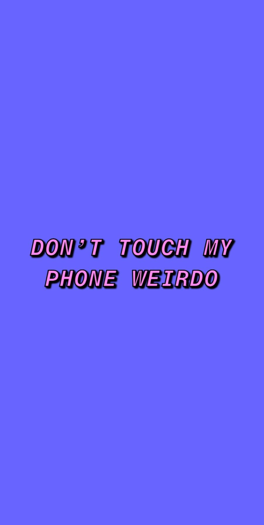 Dont Touch My Phone Purple Wallpaper Dont Touch My Phone Wallpapers Purple Wallpaper Iphone Wallpaper Vintage