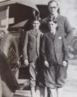 Joe Jr., Joe and John Kennedy
