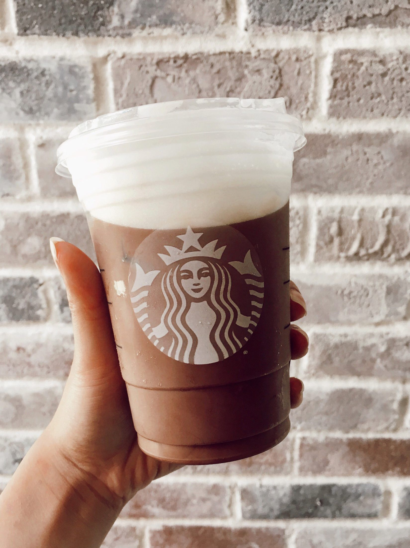 low calorie starbucks iced mocha cold foam cold brew