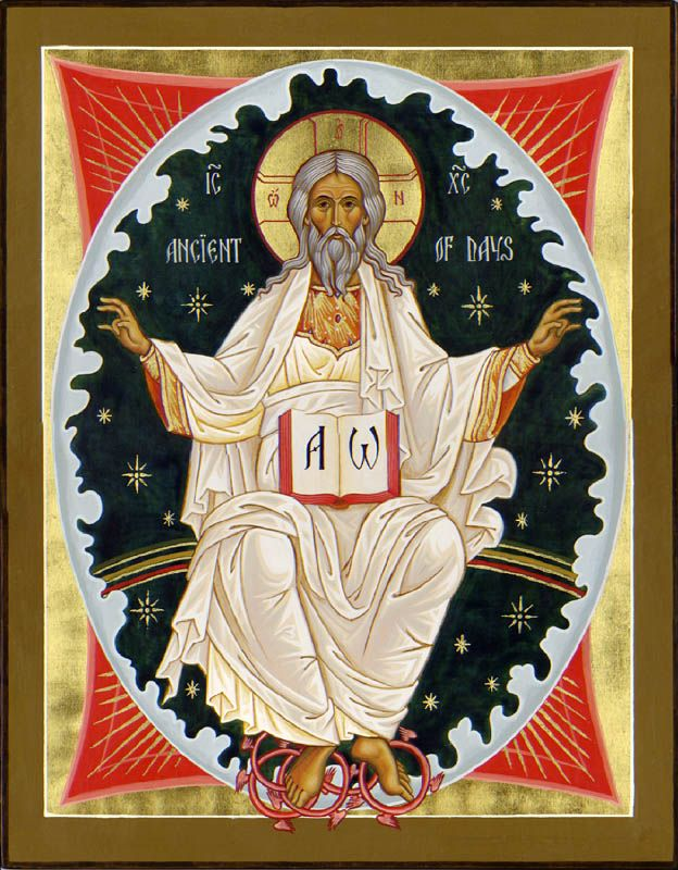 Image result for ancient of days orthodox icon