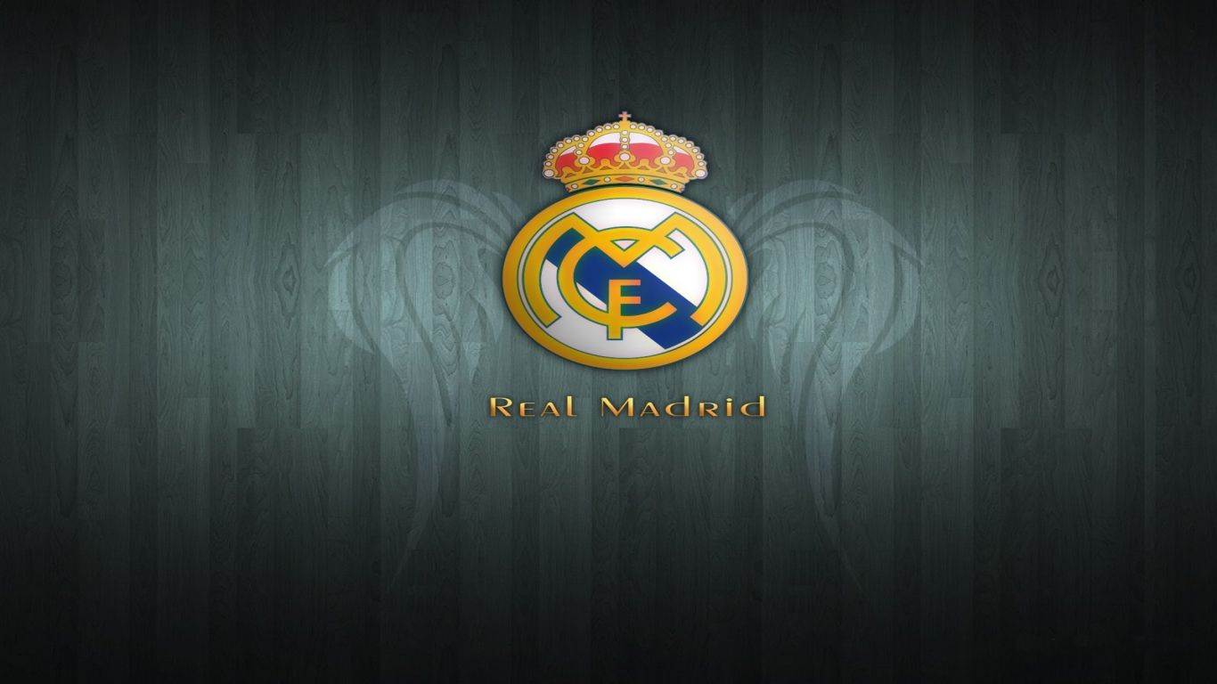 Real Madrid Logo Download 1366x768 Resolution Of Hd Real Madrid Logo Hd Soccer Real Madrid Logo Wallpapers Real Madrid Wallpapers Madrid Wallpaper