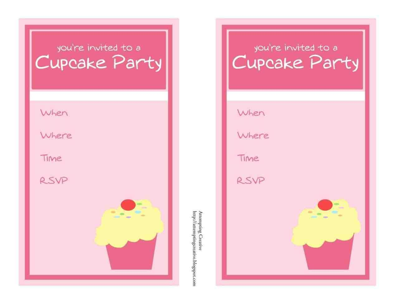 It's just a photo of Refreshing Invitation Maker Printable