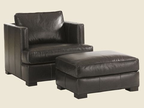 Remarkable Fillmore Leather Ottoman By Lexington Lexington Furniture Pdpeps Interior Chair Design Pdpepsorg