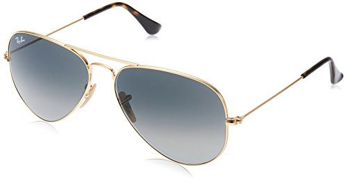 bf17cbfcee6 Ray-Ban Classic Aviator Sunglasses in Gold Gradient Grey RB3025 181 71 58-