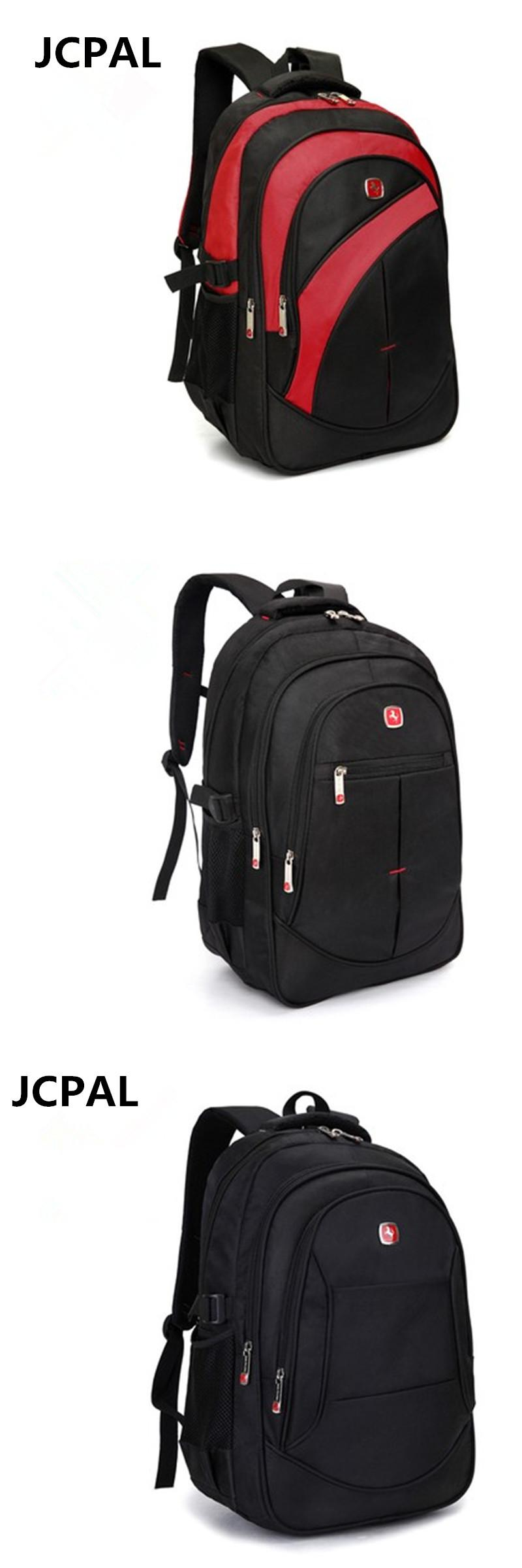 e58b1c2ec417 Visit to Buy] Waterproof Oxford Swiss Backpack Men 15 inch Laptop ...