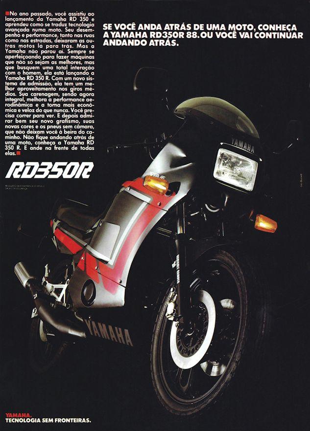 A Rd350r Foi Icone Entre As Esportivas Brasileiras Divulgacao Fotos De Carros Antigos Motos Motos Antigas