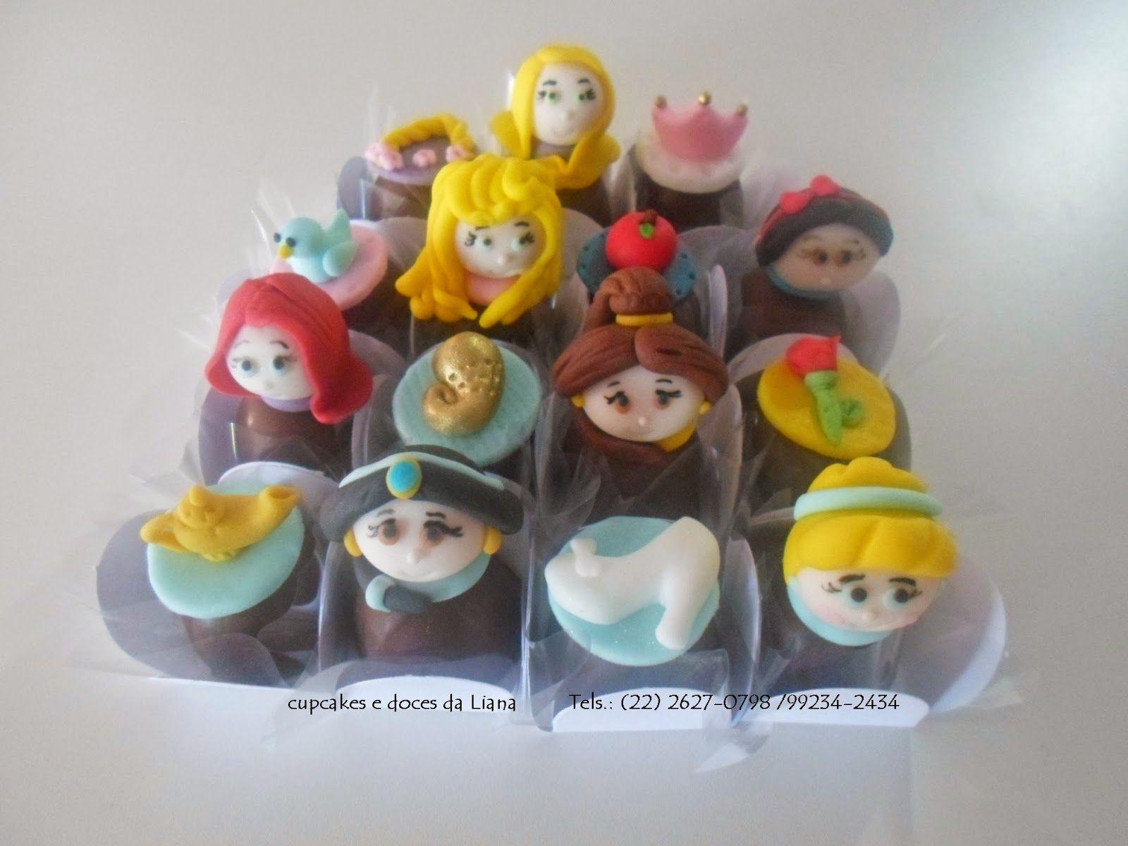 Cupcakes e Doces da Liana: trufas princesas