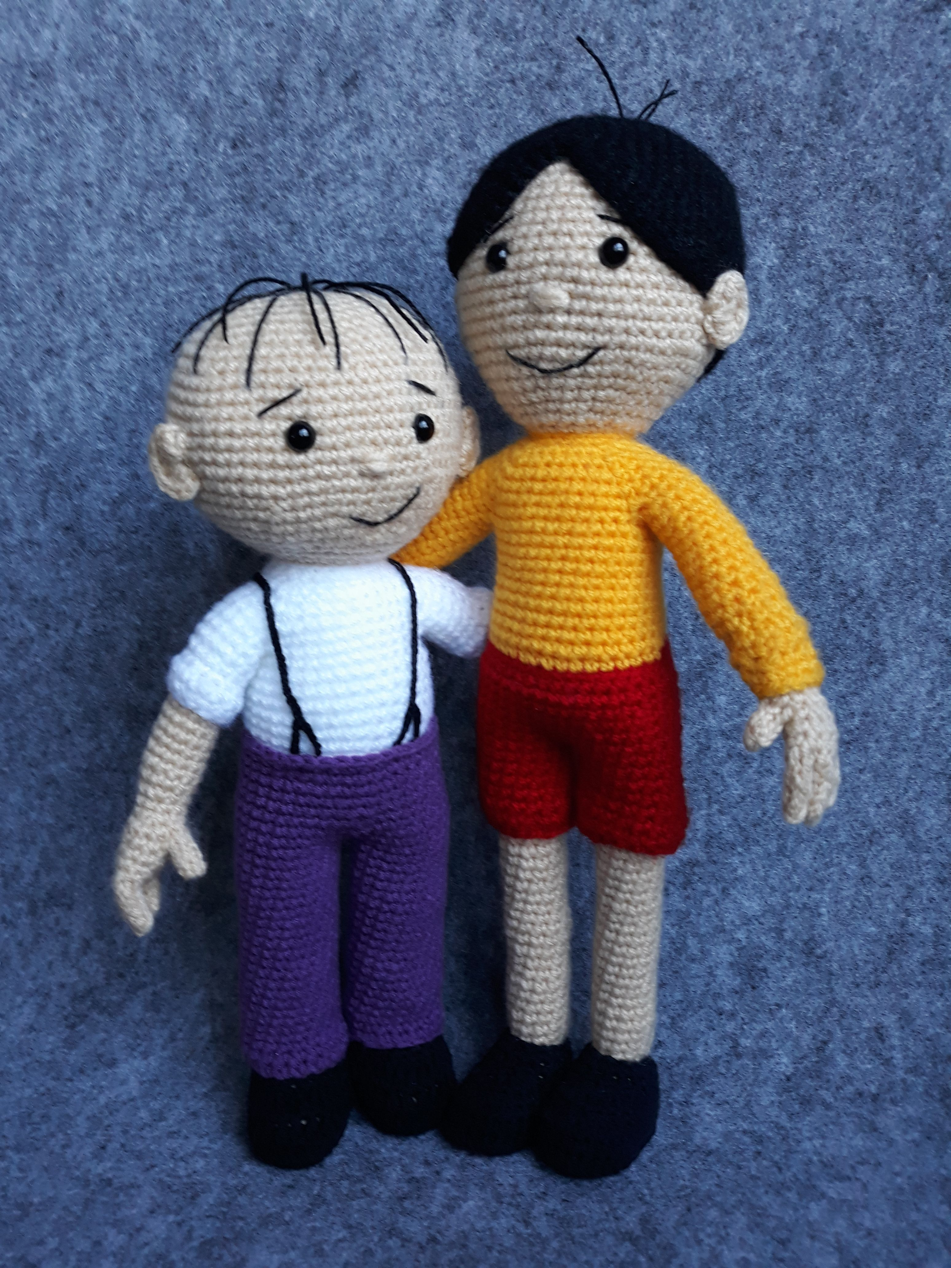 Toy house crochet. The work of Elena Aistova