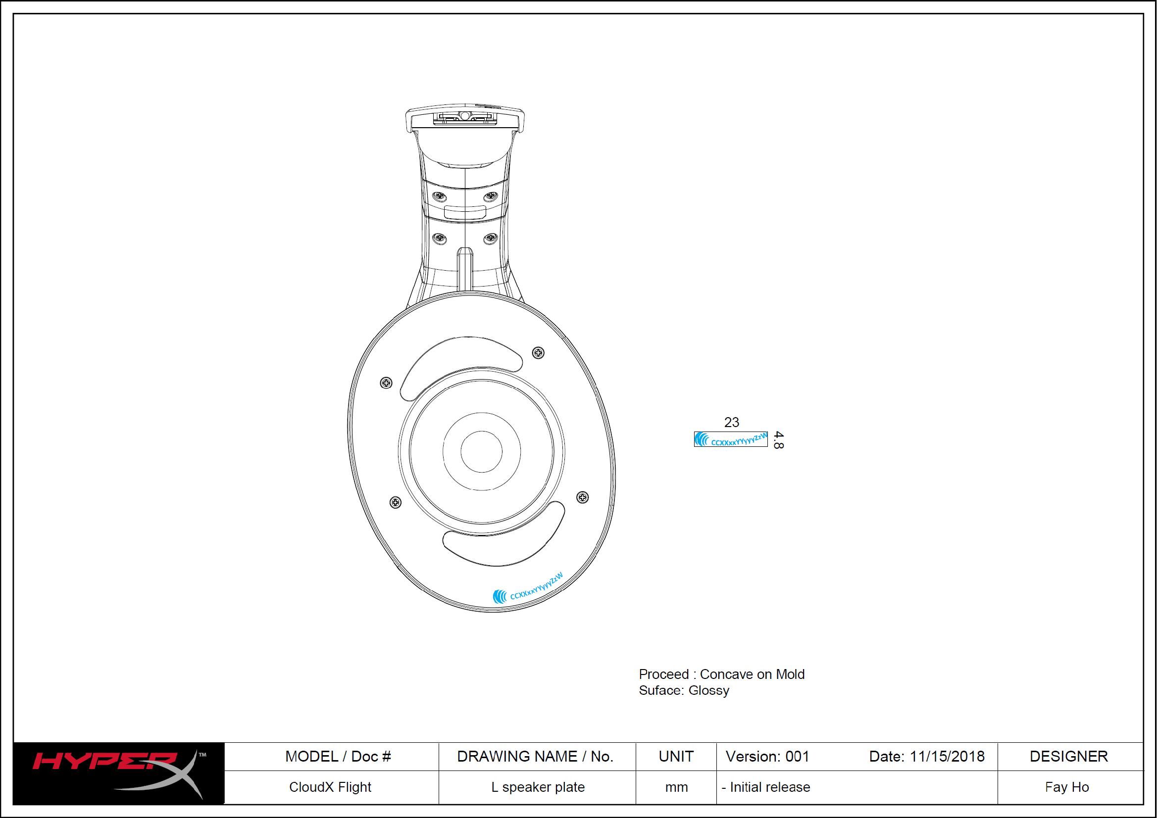 Kingston Technology Company HyperX CloudX Flight Wireless
