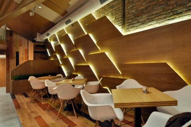 """Einmalige Innenraum Gestaltung Des Kaffeehauses """"Don Café"""" Von ..."""