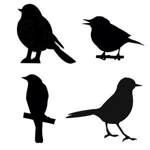 Page Not Found Bird Stencil Bird Silhouette Silhouette Stencil