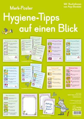 Hygiene-Tipps auf einen Blick | Klassenraum, Toiletten und Förderschule