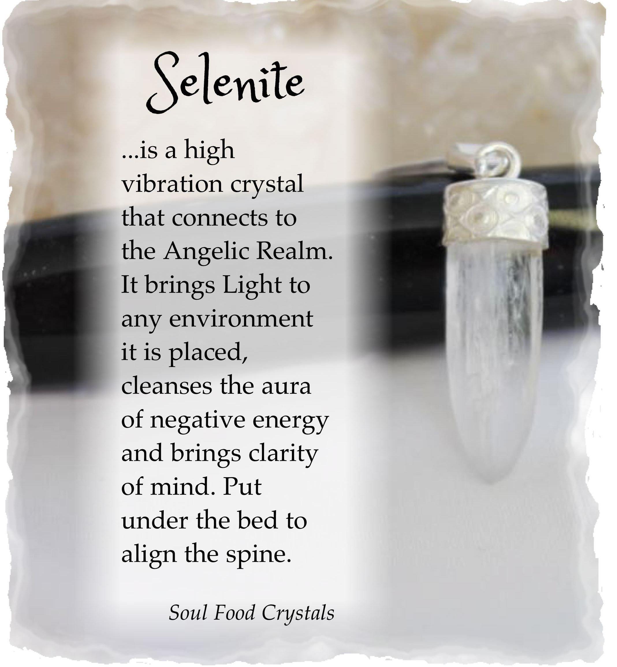 Selenite (stone): magical properties 21