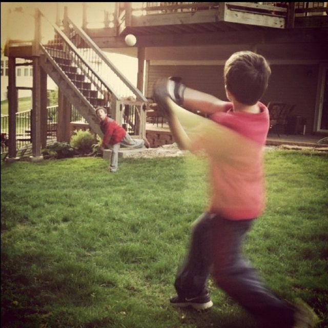 Backyard Wiffle Ball Battle. What Are The Rules For Wiffle