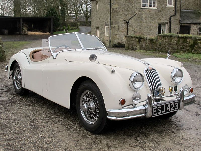 1956 Jaguar XK140 Roadster Special Equipment Auction   Classic Car Auctions  U0026 Sale   H