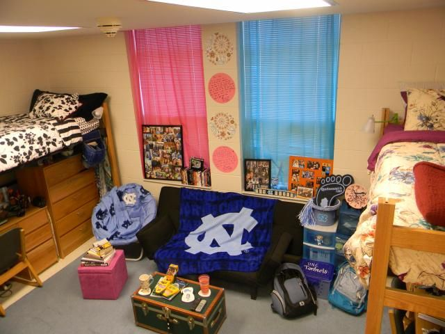 a room in koury hall at unc
