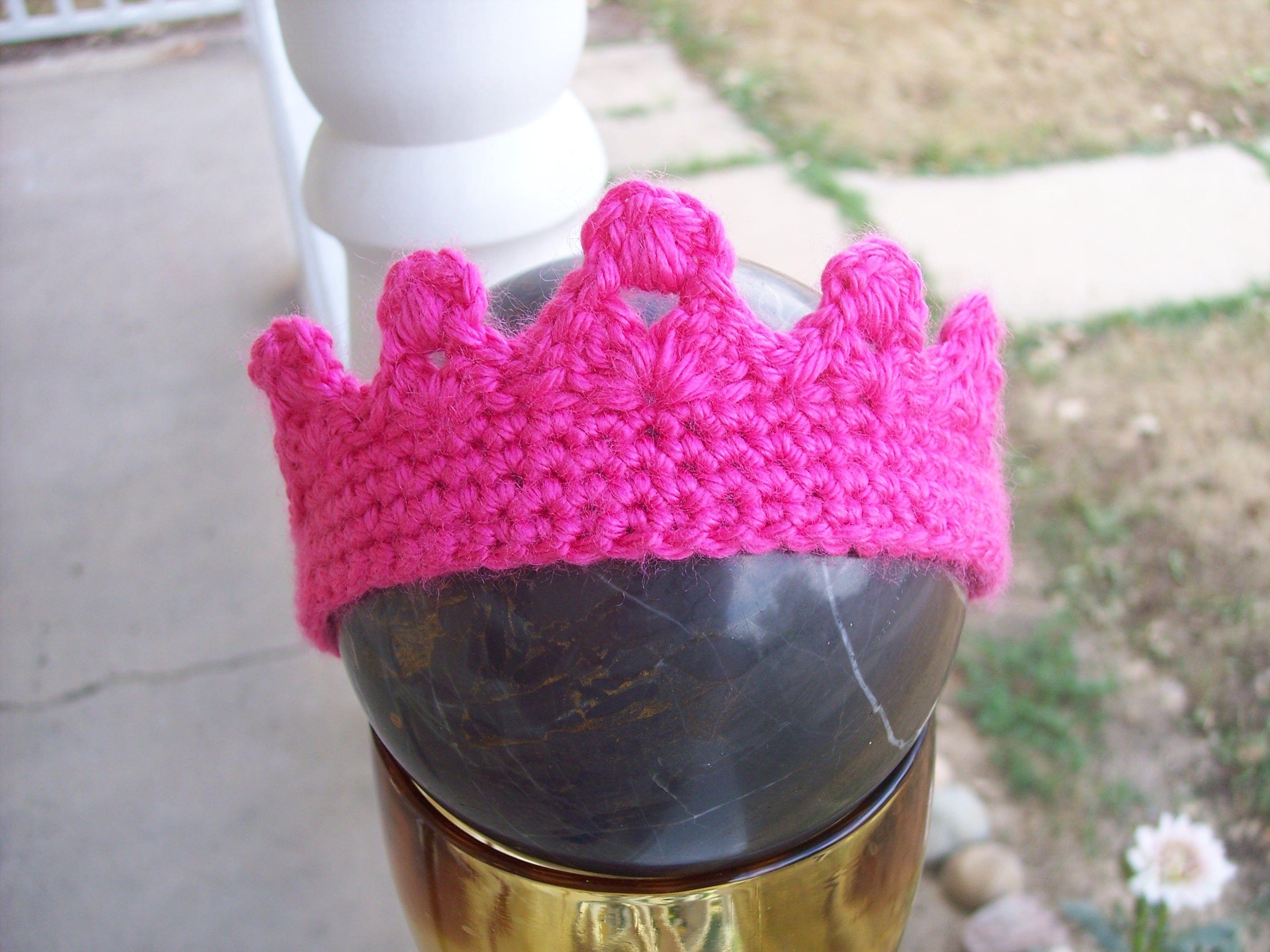 Size 0-3 month Princess Crown | DIY hecho por nosotras | Pinterest ...