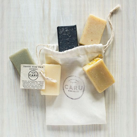 Gift Travel Size Organic Biodegradable Soap