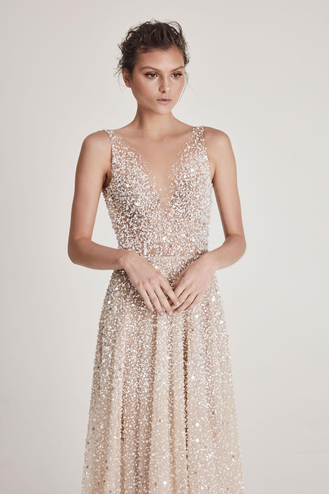 Peach in 2020 Peach wedding dress