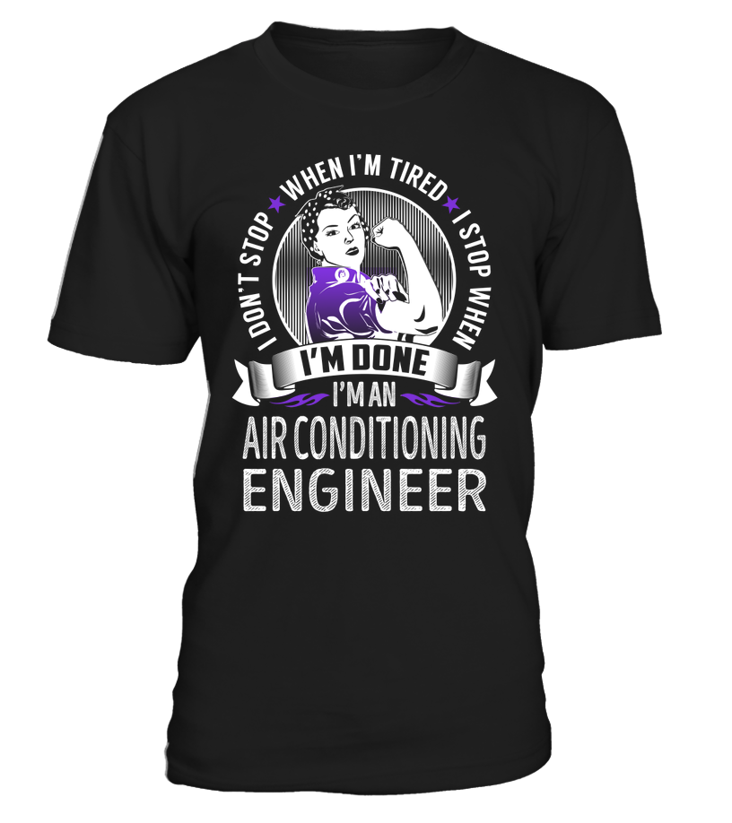 I'm an Air Conditioning Engineer Job Title Shirts