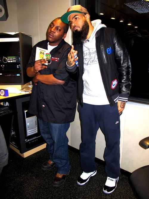 10027346d4263c Stalley in the Air Jordan 11