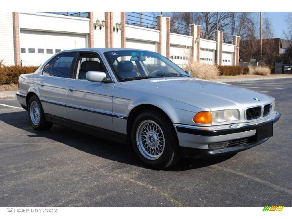 1997 bmw colors 1997 BMW 7 Series 740i Sedan Exterior