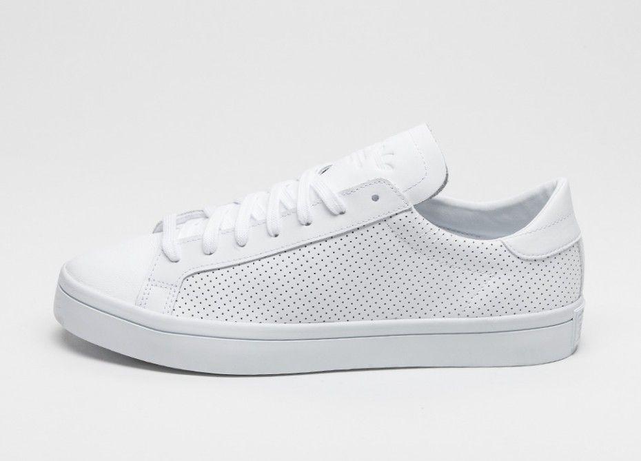 adidas Court Vantage (Ftwr White   Ftwr White   Core Black)  759fefe85