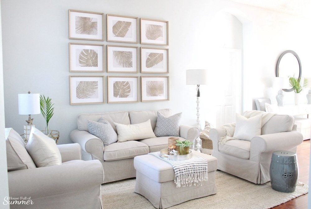 Styling My Coastal Living Room For Winter House Full Of Summer Coastal Home Lifestyl Living Room Decor Neutral Coastal Chic Living Room Living Room Decor