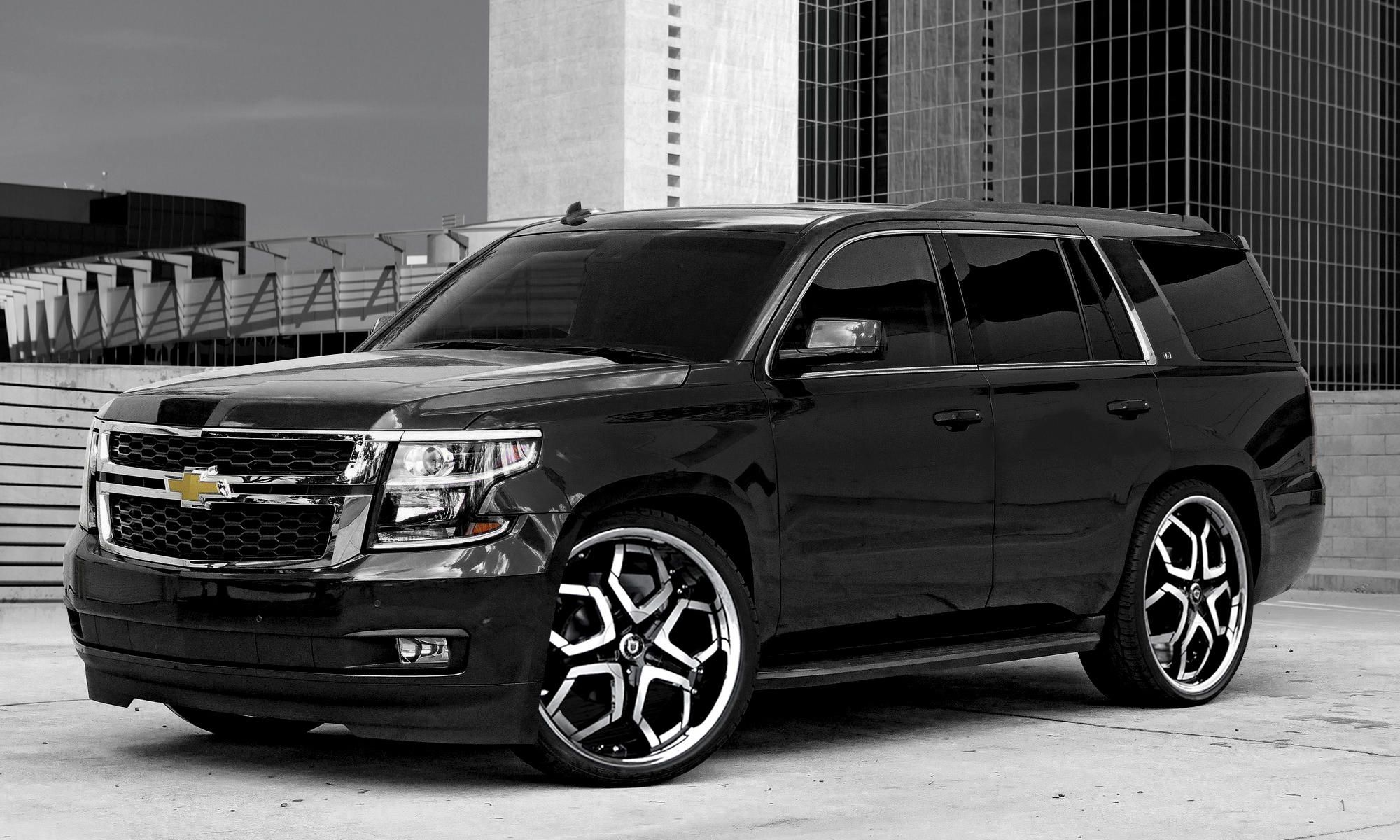 Brand New 2019 Peters Elite Black Widow Chevrolet Tahoe Z71 With Chrome Delete All Trim Either Black Or Red Level Kit In 2020 Chevy Tahoe Tahoe Chevrolet Tahoe