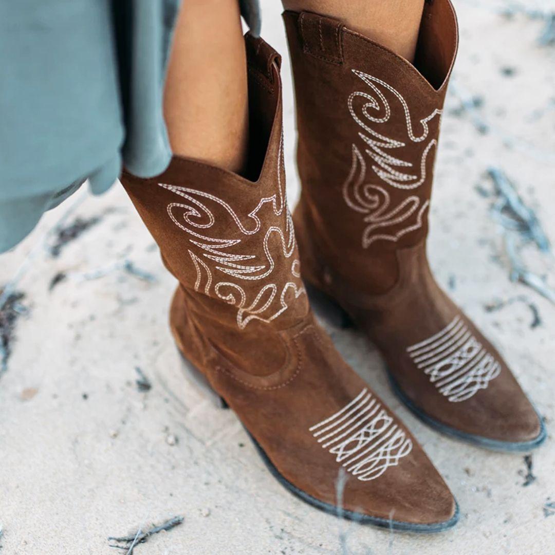 Botas Cowboy Botas Camperas de Mujer |▷ Outlet ¡Ofertas