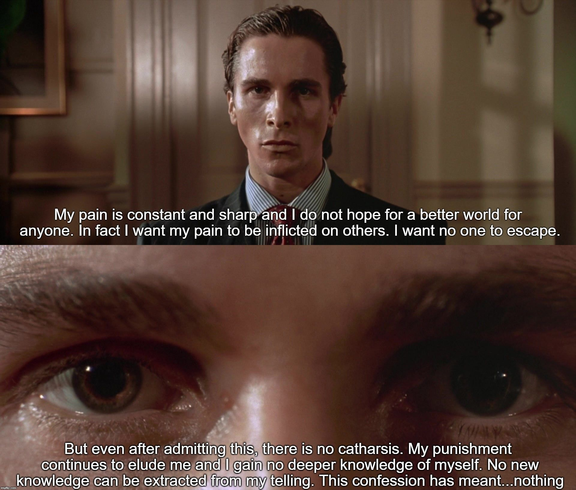 American Psycho 2000 37threalm American Psycho Quotes