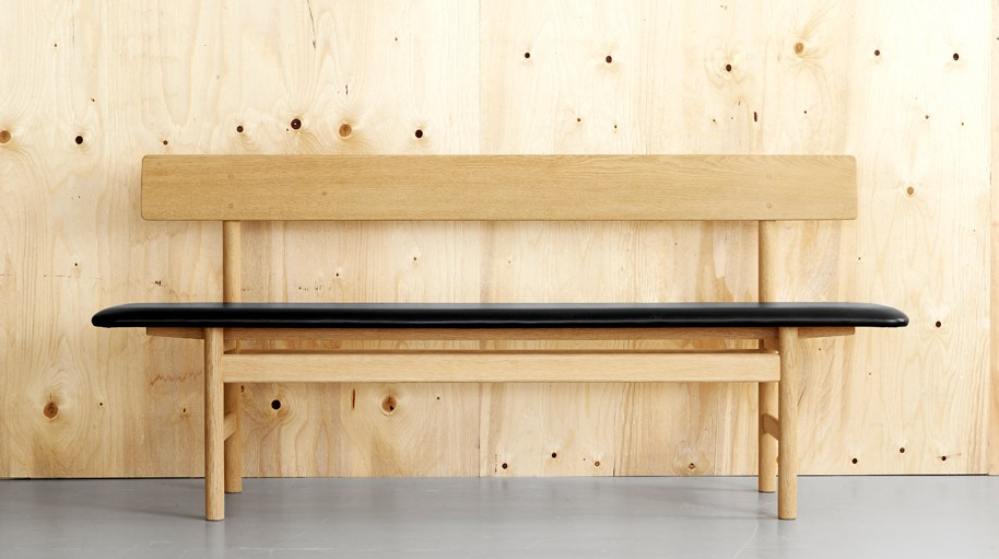 10 Easy Pieces Modern Wooden Benches With Backs Remodelista Fredericia Furniture Wooden Bench Dining Bench With Back