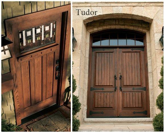 Tudor Style Doors Detailed Craftsmanship Tudor Style Front Door Minature Craftsman Front Doors Double Doors Exterior Exterior Doors
