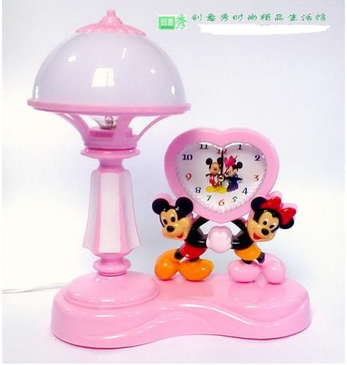 Superior Minnie Mouse Bed Rooms | Mouse Desk Lamp Mickey Minnie Pointer Type Small  Alarm Clock Bedroom