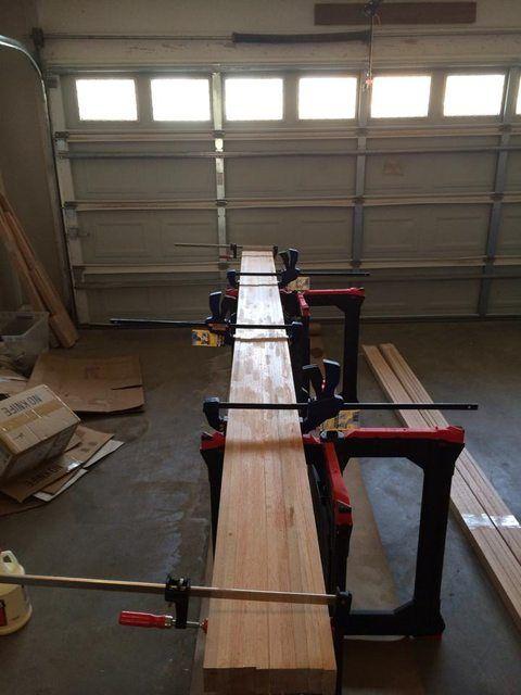 Diy Shuffleboard Table Home Shuffleboard Table Wood