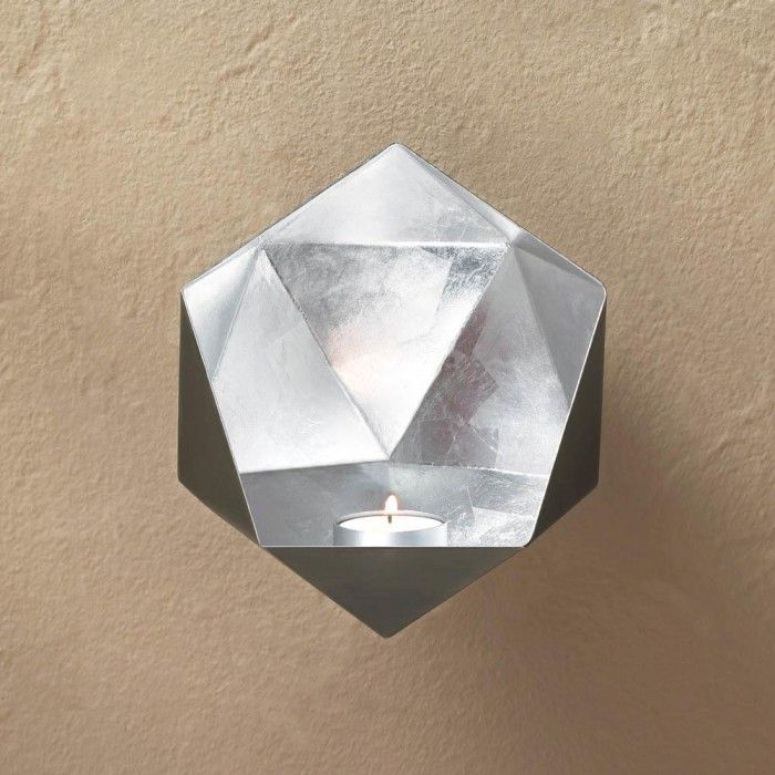 Your Wall Will Sparkle And Shine With Stunning Design When You Hang These  Geometric Gold,. Sconces Living ...