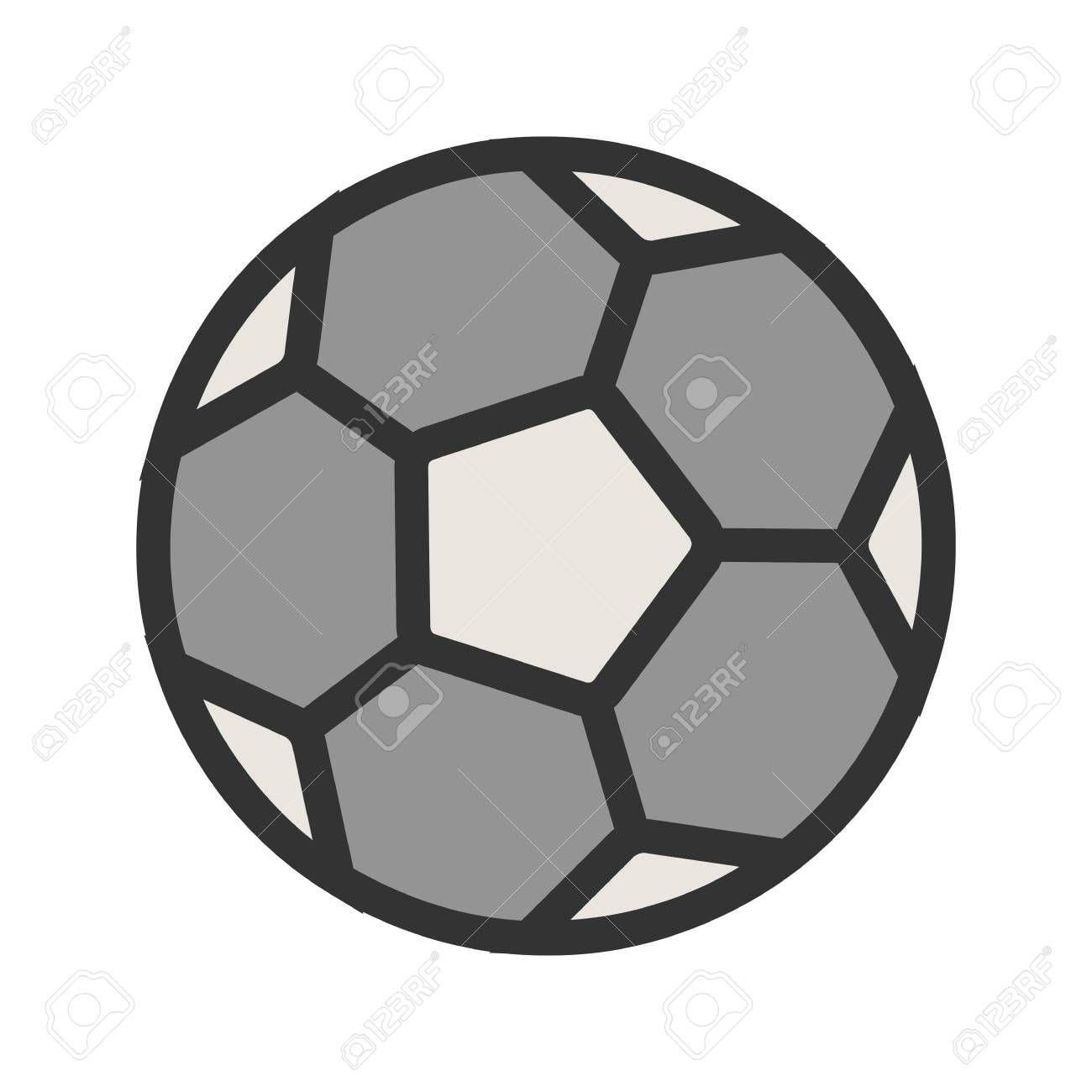Football, ball, soccer, sports icon image. Can also be used for fitness, recreation. Suitable for we...
