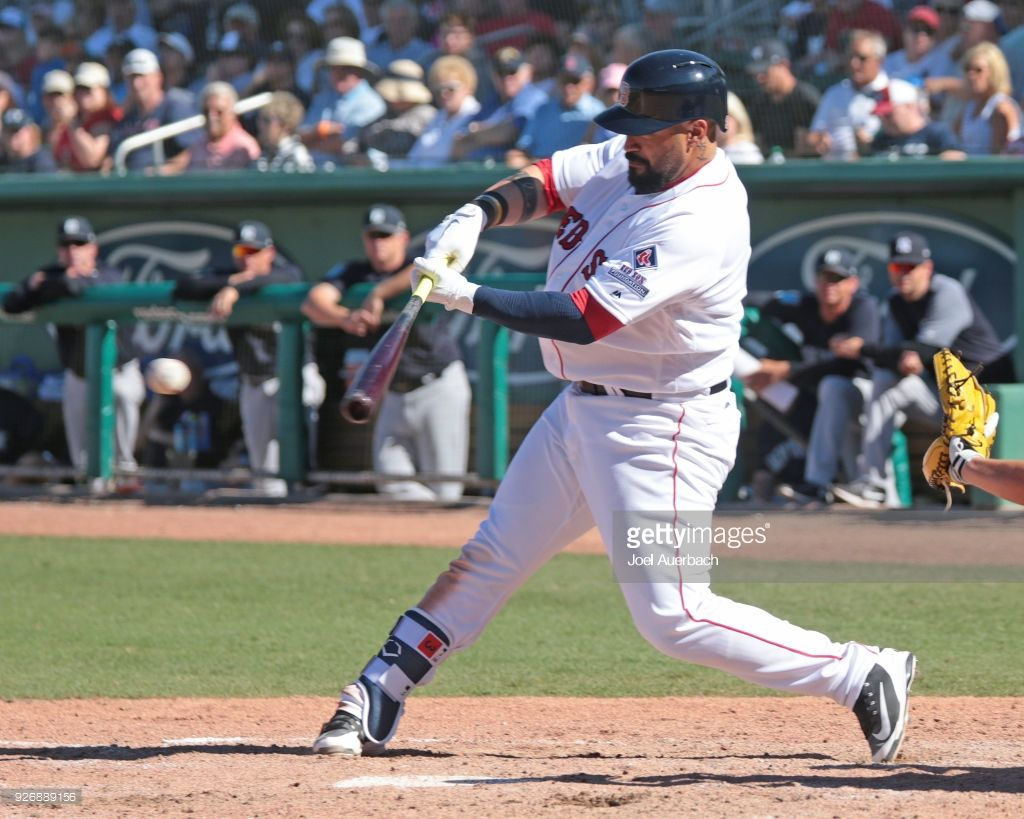 Is Sandy Leon Buying into Launch Angle? Boston red sox