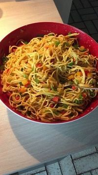 Photo of Spaghetti Curry Salad by biby0208 | chef