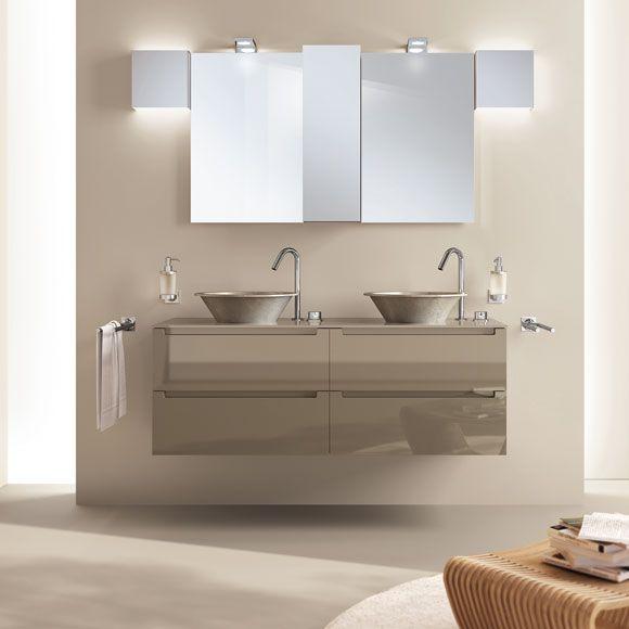 Los lavabos suspendidos, nueva tendencia decorativa para tu cuarto ...