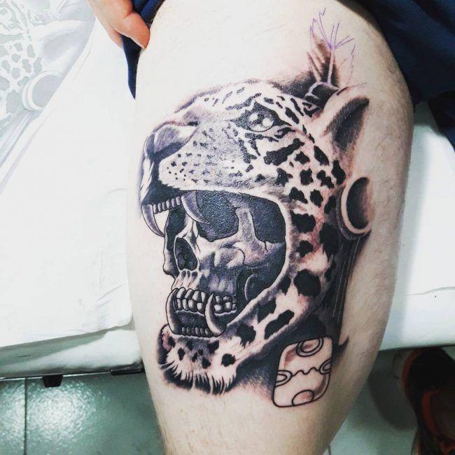 50 Diseños De Tatuajes Mayas Y Su Significado Tatuajes Mayas