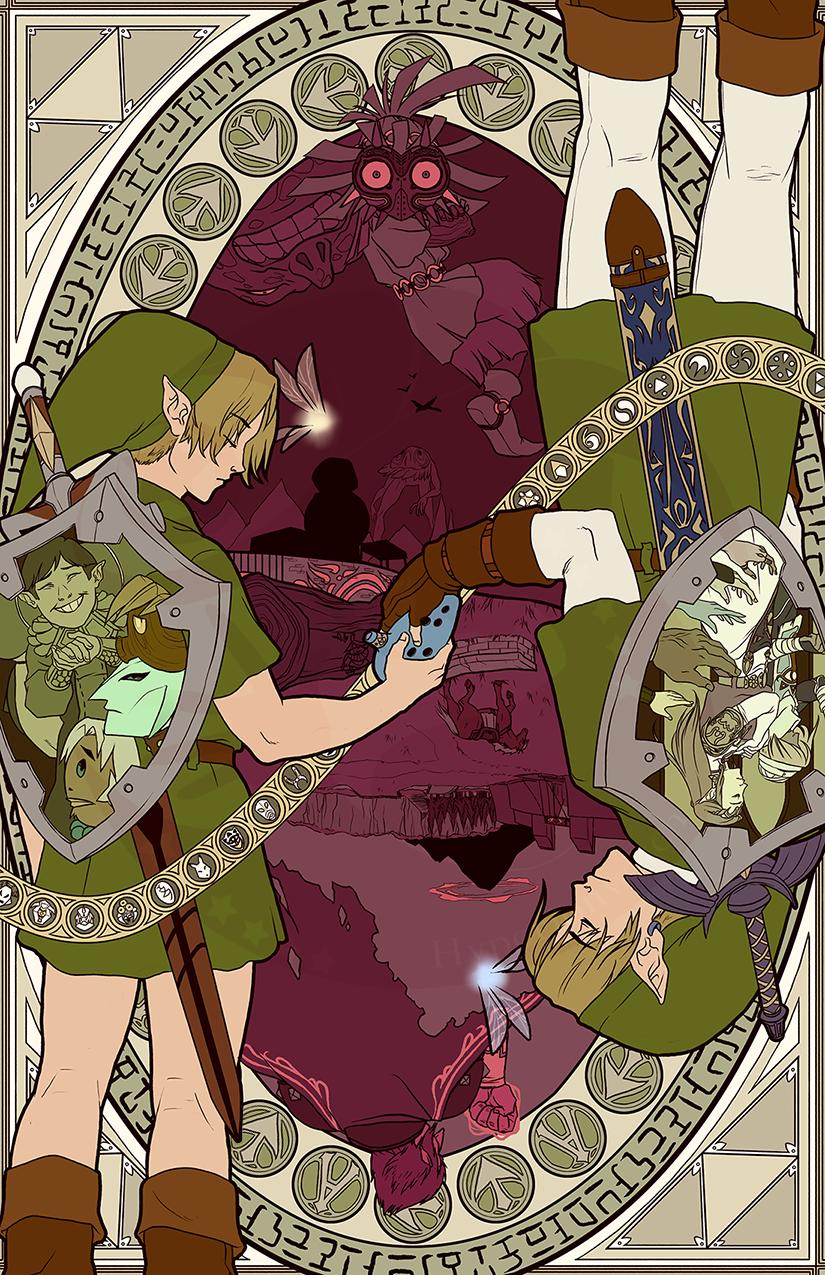 The Ocarina Cycle By Hyperionwitch On Deviantart Zelda Art Legend Of Zelda Breath Legend Of Zelda