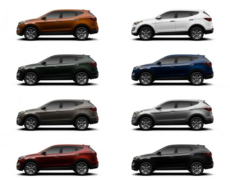 2014 Hyundai Sante Fe Sport vs LWB Buyers Guide with