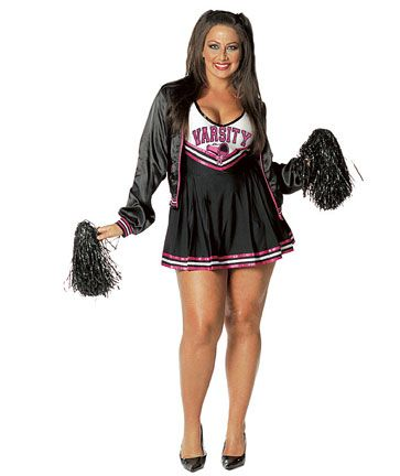 2012 Plus Size Halloween Costume Ideas For Women - Real Women Have .  sc 1 st  Pinterest : cheerleader halloween costume women  - Germanpascual.Com