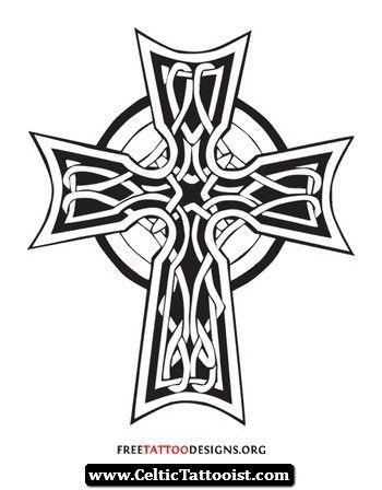 Military Celtic Cross Tattoo 03 - http://celtictattooist ...