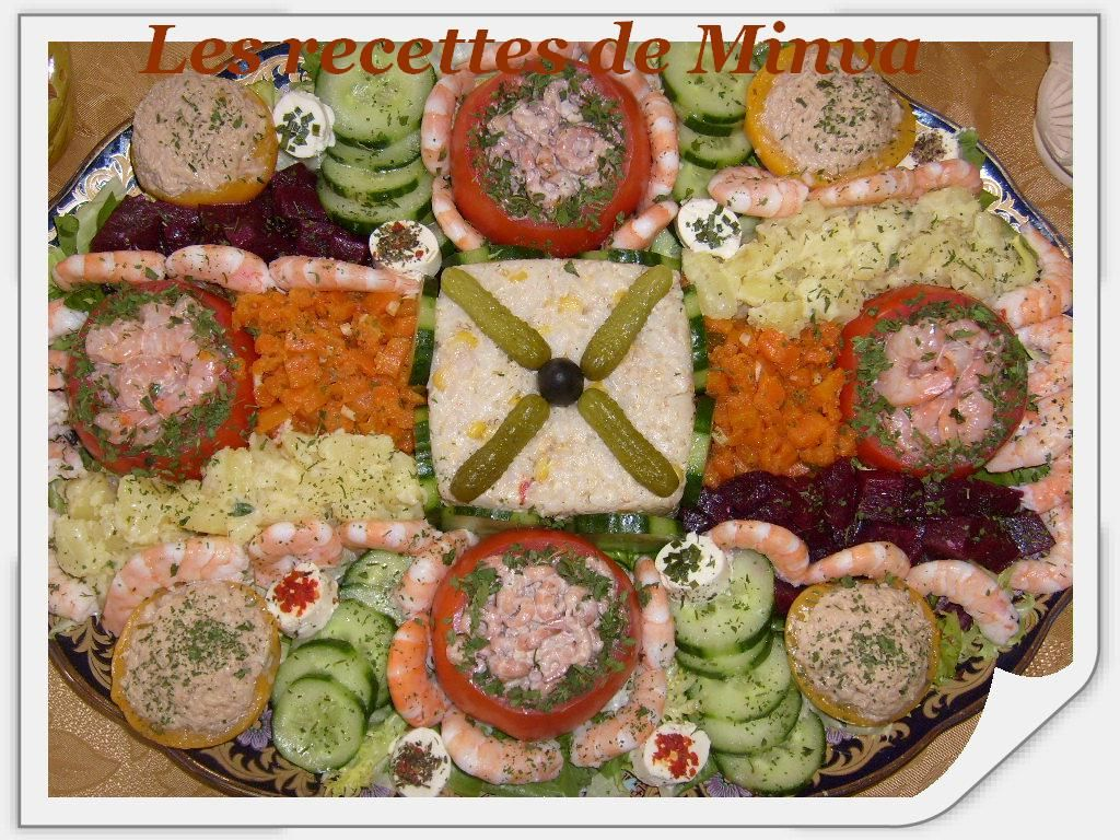 Salade maroccan salad pinterest salades salades for Idees entrees froides rapides